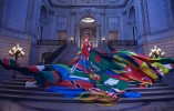 Amsterdam Rainbow Dress, City Hall San Francisco, photo by Ashlynn Danielsen