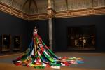 Amsterdam Rainbow dress, Photo by Pieter Henket   ( voor meer informatie klik op project-titel in startpagina )